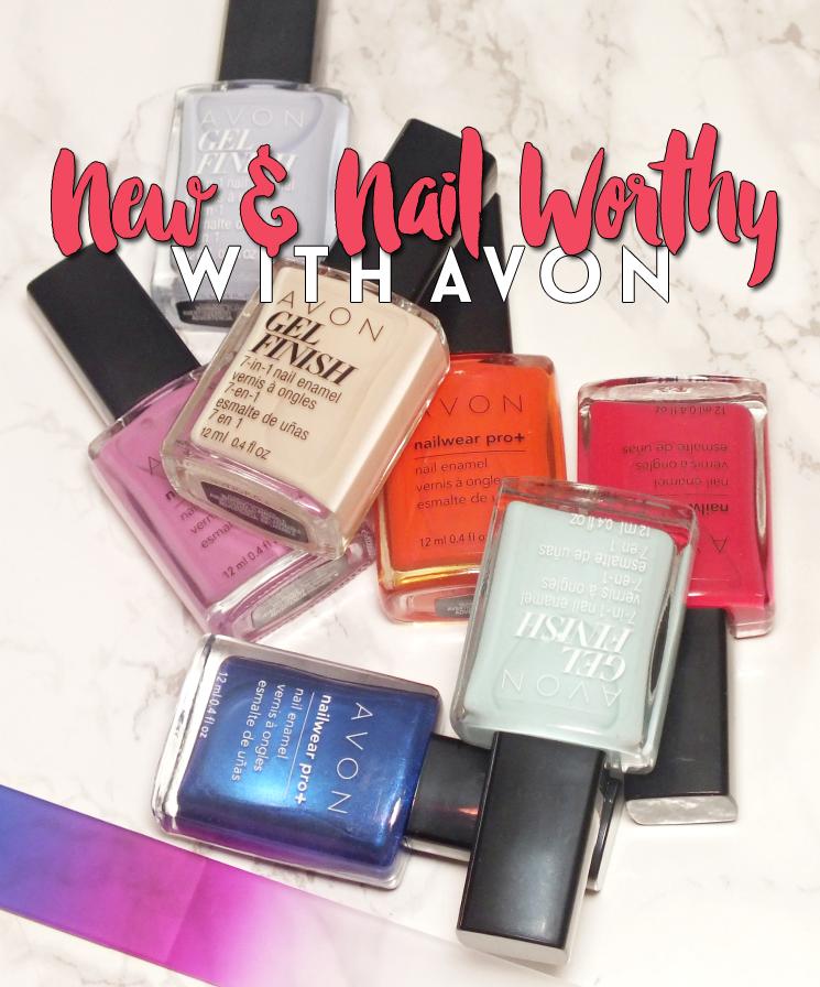 avon new & nail worthy
