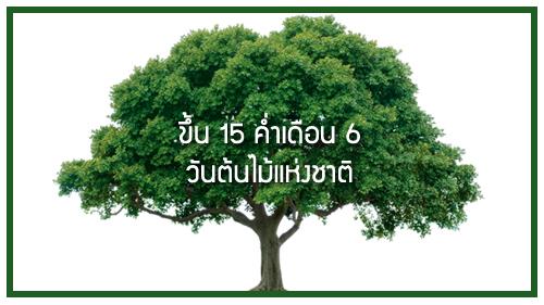 วันต้นไม้แห่งชาติ
