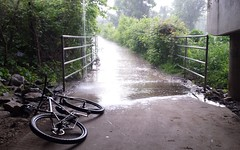 2016 Bike 180: Day 88 - Ran into a rainstorm