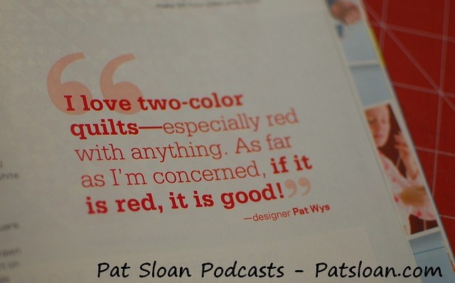 Pat sloan radio quotes 1
