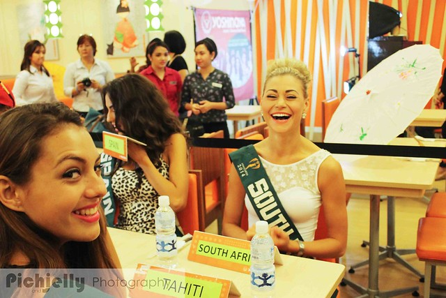 Yoshinoya Miss Earth 2014