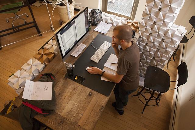 Studio Desks: Eric Benoit