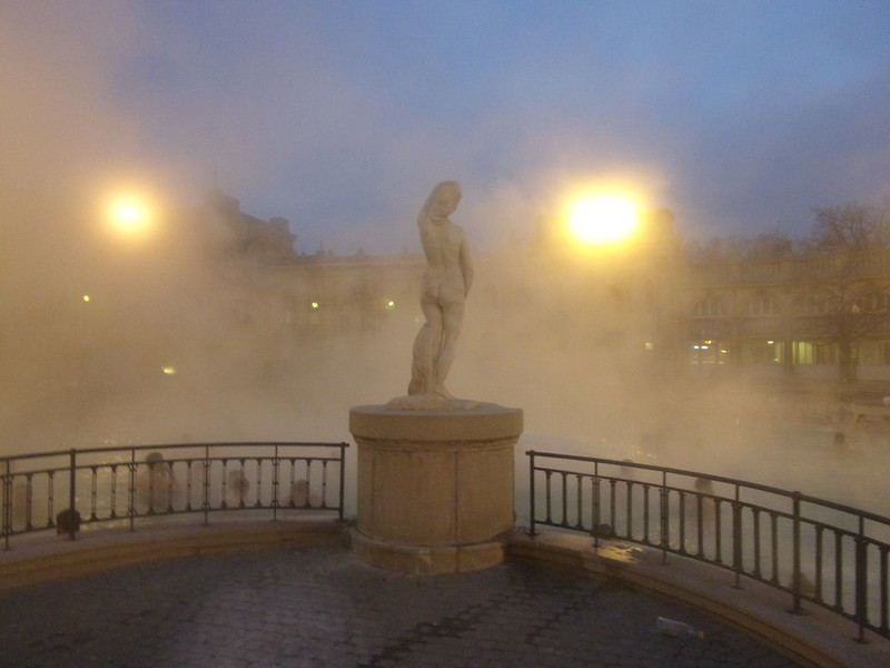 Statue, Szechenyi Baths