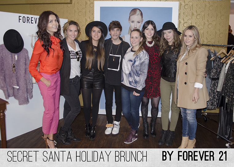 Secret Santa Holiday Brunch by Forever 21