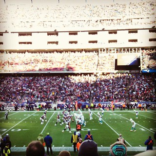 It was a great day to be at Gillette! #patsVsdolphins #patriots #gillette #AFCEastChampions