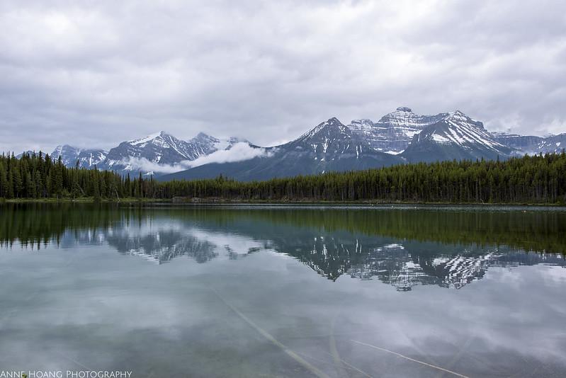 Herbert Lake, Alberta Canada