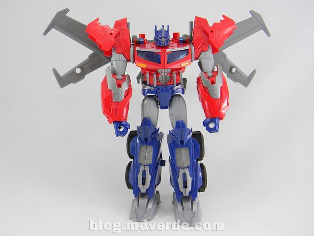 Transformers Hunter Optimus Prime Voyager - Transformers Go - modo robot