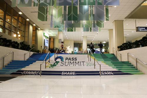 SQLPASS Summit 2014 stairs