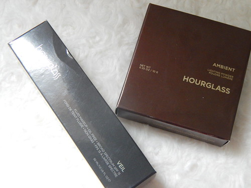 Hourglass Veil Foundation and Ambient Lighting Powder in Ethereal Light