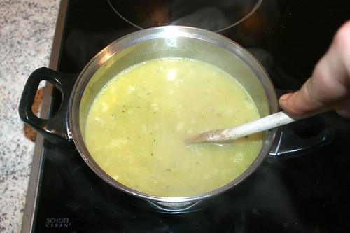 46 - Kurz aufkochen & geschlossen köcheln lassen / Boil up & let simmer closed