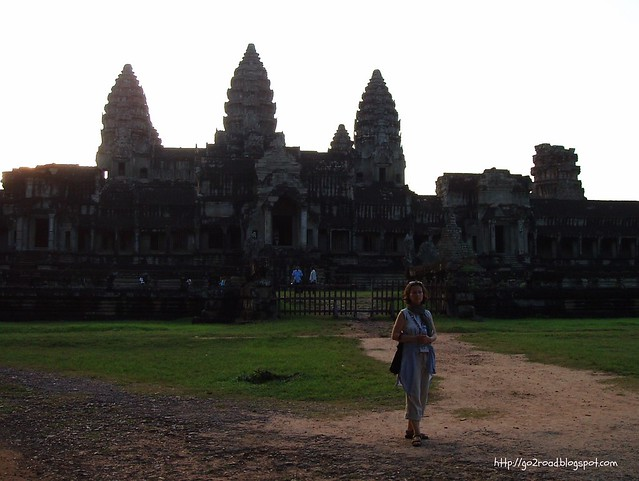 Главный храм Ангкора, Камбоджа.