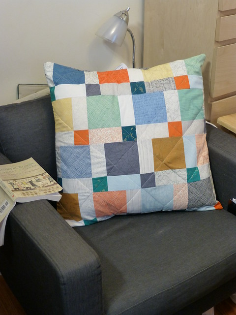 Pillow in chair1