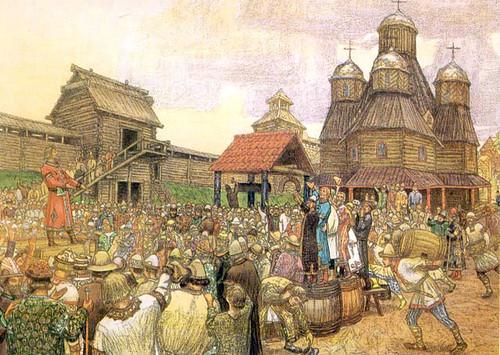 Віче Стародавні словяни