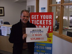 Winner of the Chevrolet Malibu (Chose $25,000 Cash Option)
