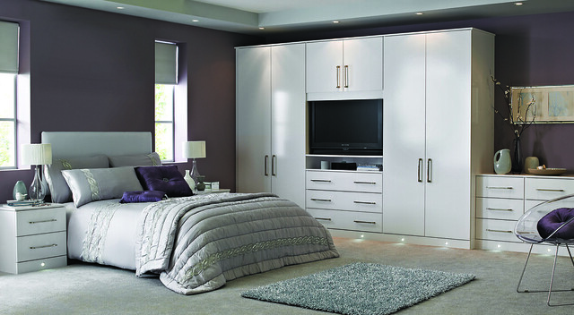 Bedroom in indulgent cassia white flickr photo sharing for Fitted bedroom furniture 0 finance