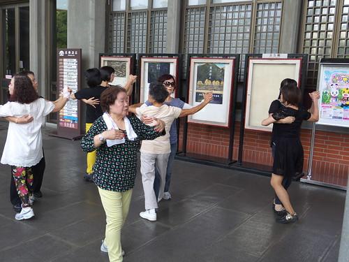 photographfreelance posted a photo:TAIWAN. Taipei. 30 Oct. 2014 Classical ballet at Sun Yat-sen Memorial Hall.