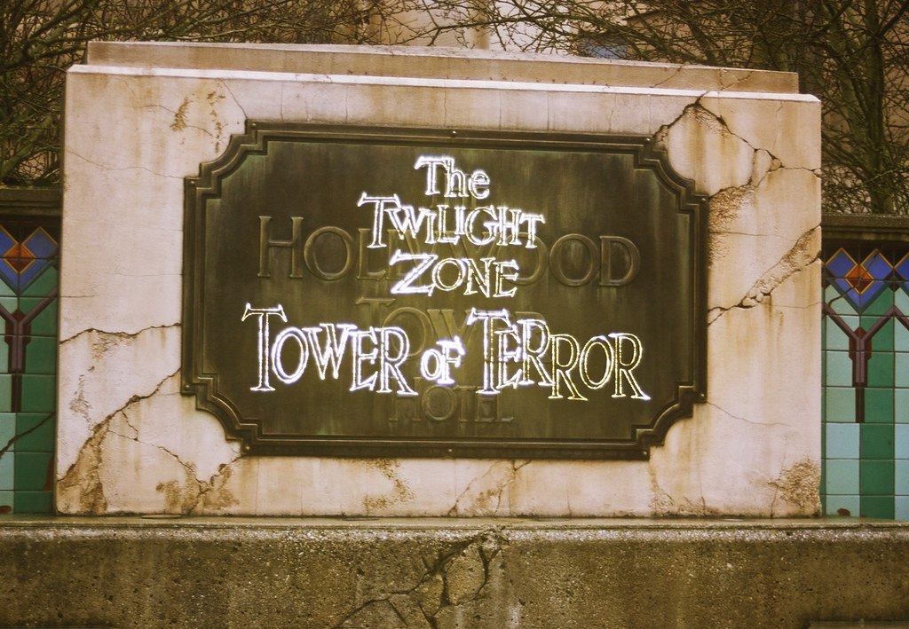 Walt Disney Studios Paris Disneyland tower of terror the twilight zone