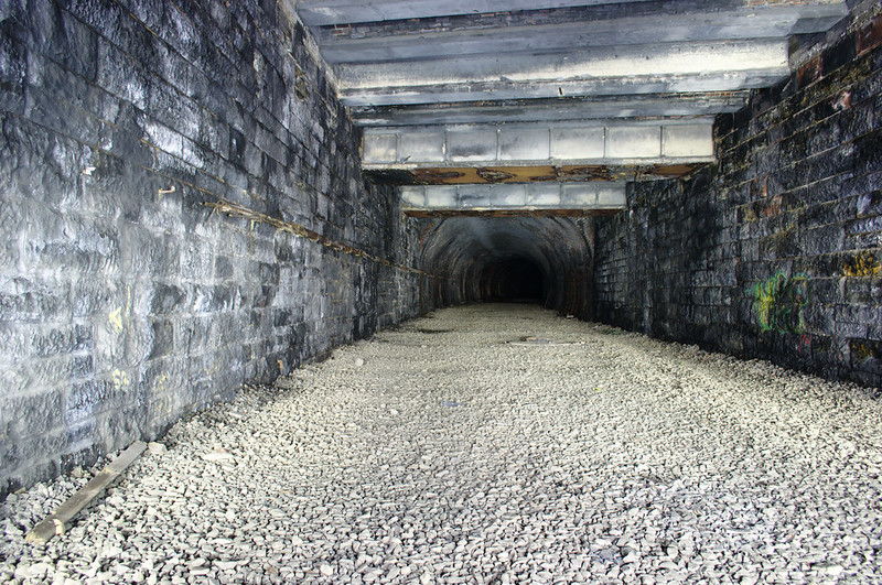Balgray Tunnel from Kelvinside Station