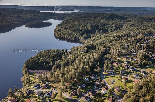 sverige swe västragötaland bengtsfors flygfoto