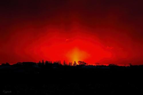 columbus wisconsin clouds sunrise unitedstates scenic ©jrj