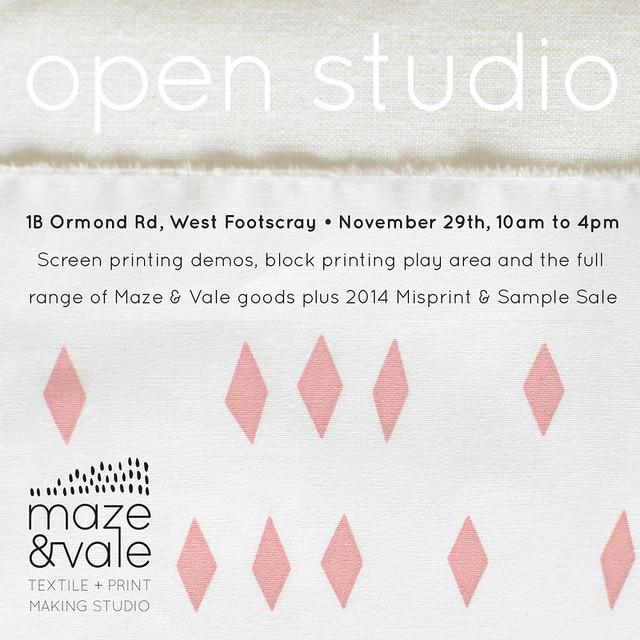 2014 open studio