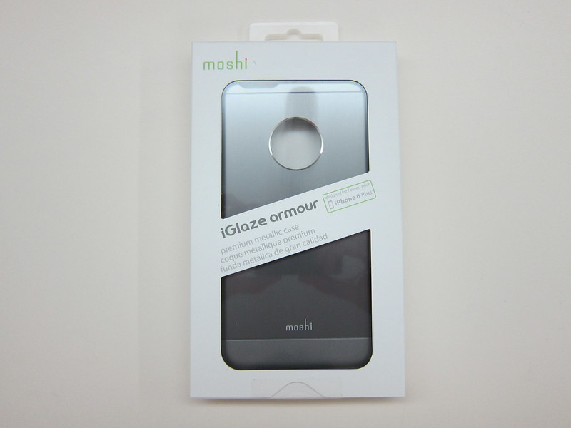 Moshi iGlaze Armour (iPhone 6 Plus) - Box Front