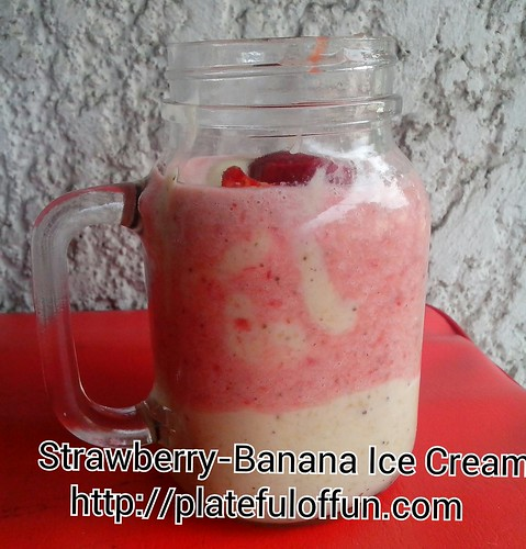 Strawberry-Banana Ice Cream