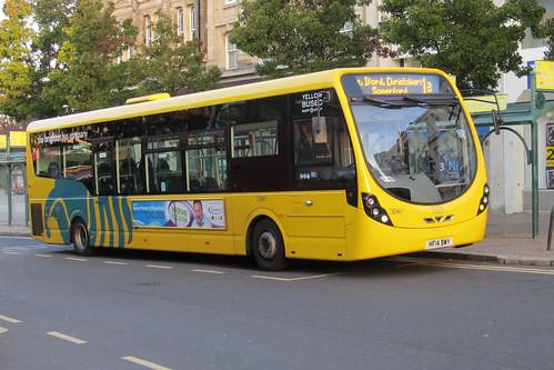 SC867 HF14BWY Wright StreetLite Yellow Buses