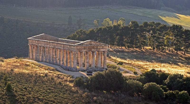 Tempio di Segesta, Sicilia
