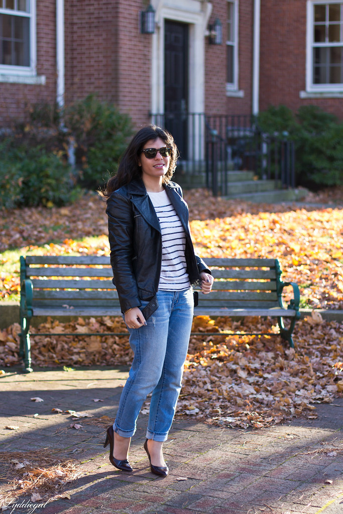 leather jacket, striped shirt, boyfriend jeans.jpg