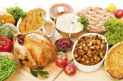 Load up your holiday table with nature's organic bounty.  (iStock image)