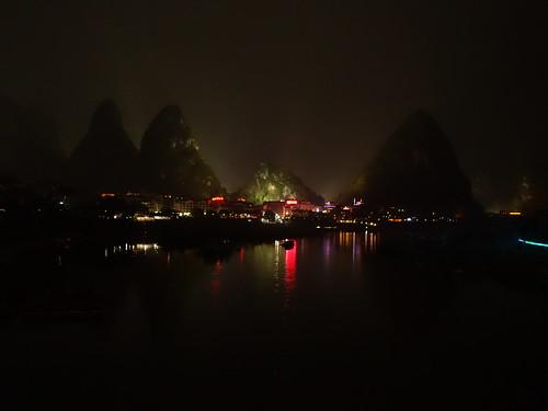 Yangshuo de nuit