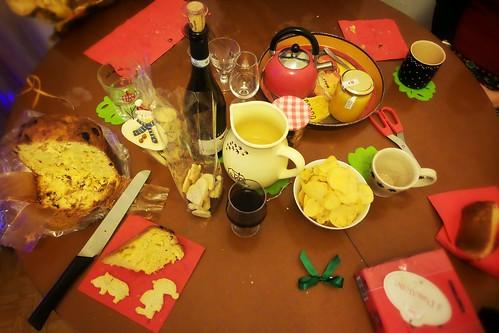 Un aperitivo con #vino e #té