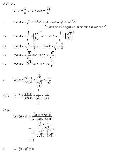 RD-Sharma-Class-11-Solutions-Chapter-7-Trigonometric-Ratios-Of-Compound-Angles-Ex-7.1-Q-6
