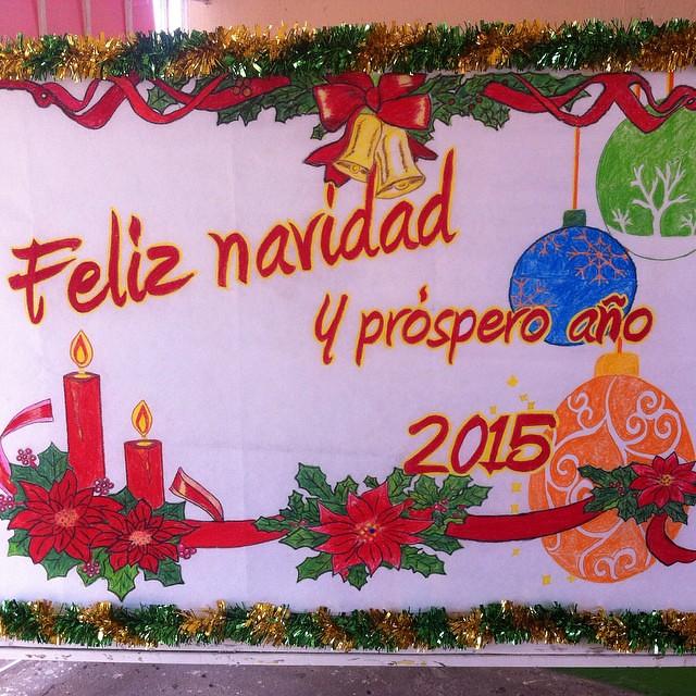 Periodico mural diciembre 2015 - Murales decorativos de navidad ...