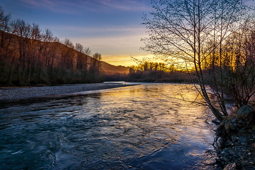 sunset water river landscape flow evening bc chilliwack vedder fraservalley lowermainland sonya65