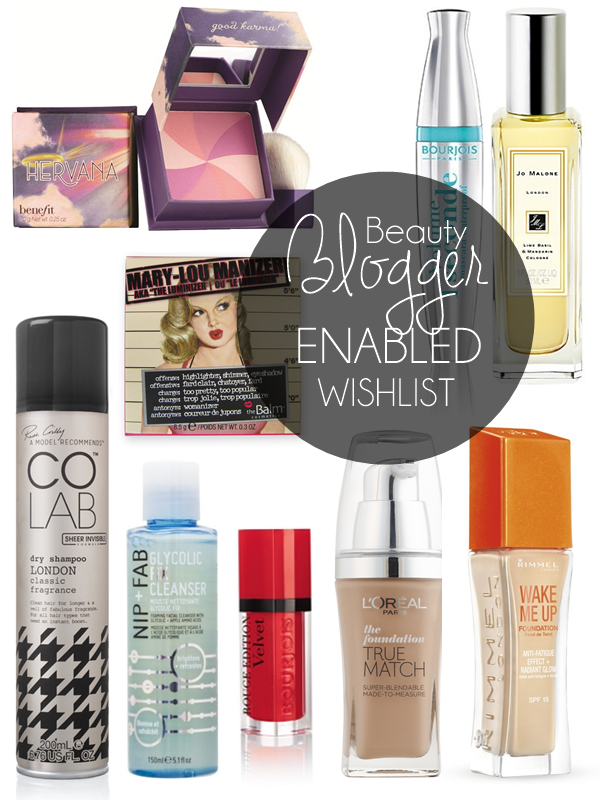 beauty-blogger-wishlist