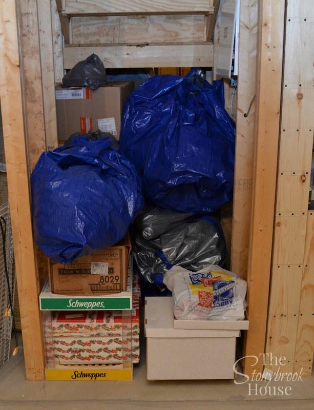 Christmas Storage Area