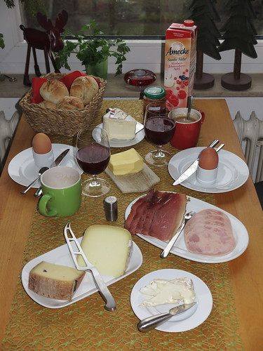 Spätes Frühstück am Samstag