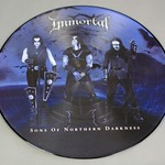 "IMMORTAL Sons Of Northern Darkness Picture Disc 12"" Lp Vinyl"