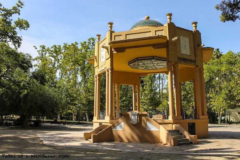 CASTELLÓN DE LA PLANA - Parque Ribalta - Templete de música