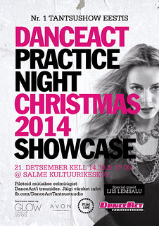 DanceAct Practice Night Christmas 2014 Showcase