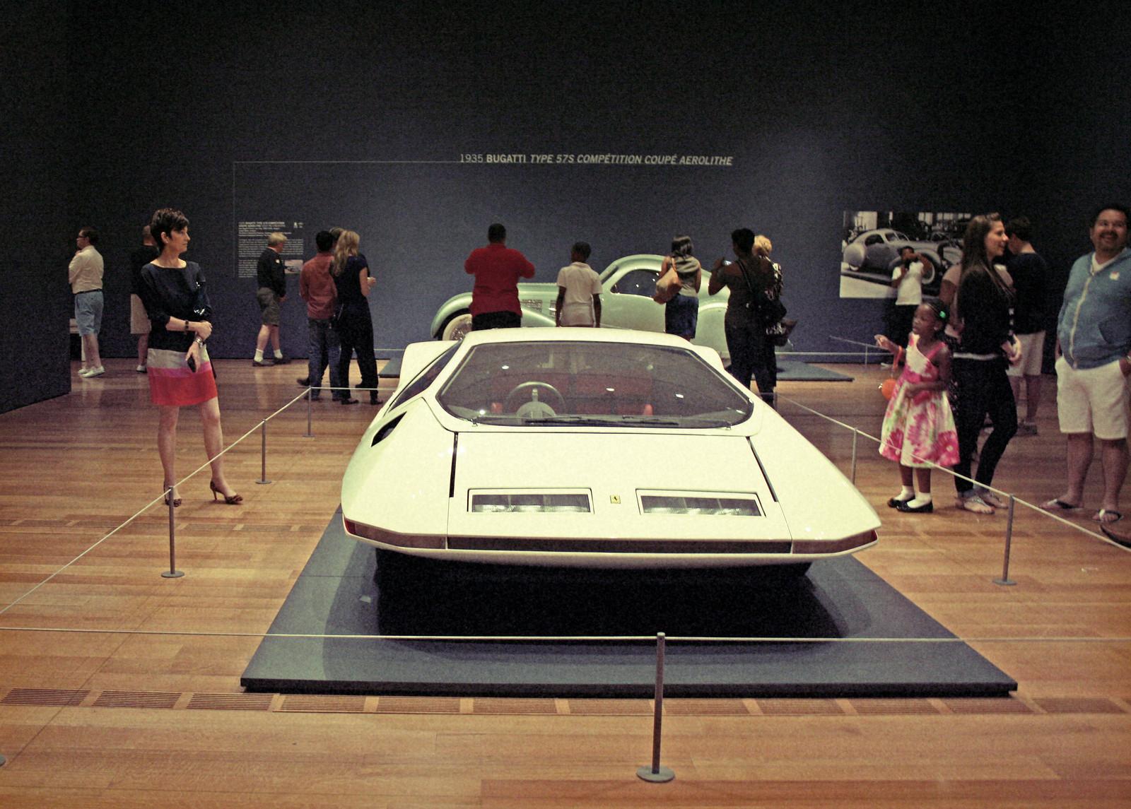 1970 Ferrari, Dream Cars Exhibit, High Museum, Summer 2014