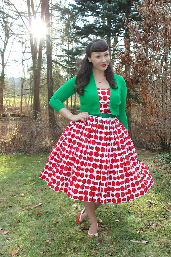 tomato dress