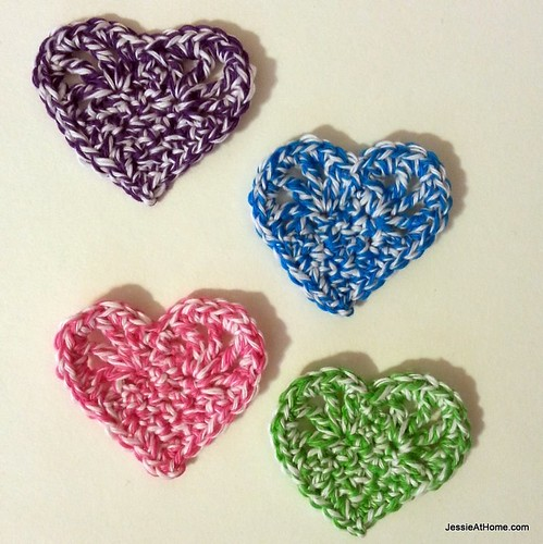 Vintage Hearts Free Crochet Pattern Jessie At Home