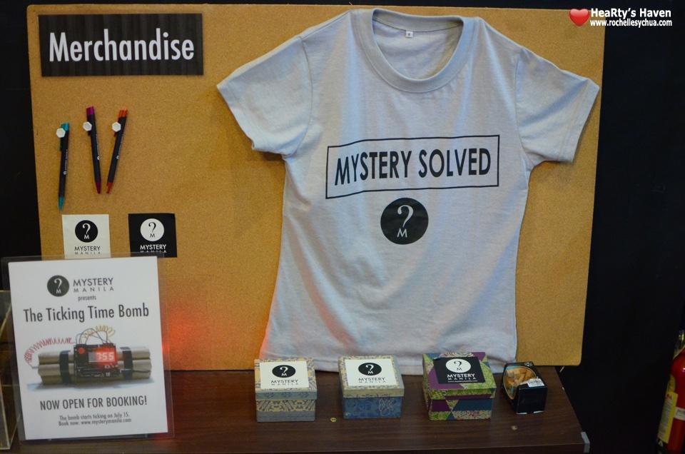 Mystery Manila Prizes
