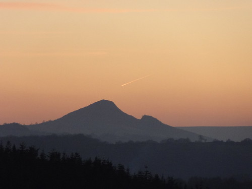 Skirrid sunset, from Forty Acres