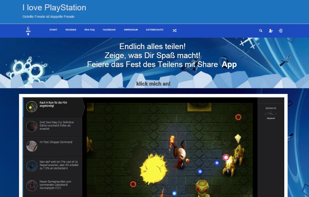 I love PlayStation-Blog