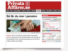 Så får du mer i Pension