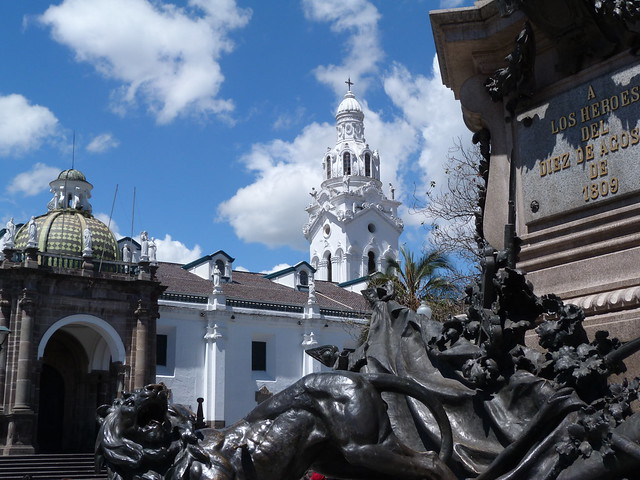 Plaza Independencia de Quito (Ecuador)